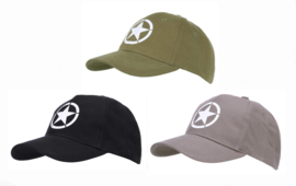 Baseball WW2 US Allied star GREEN, BLACK of Wolf Grey