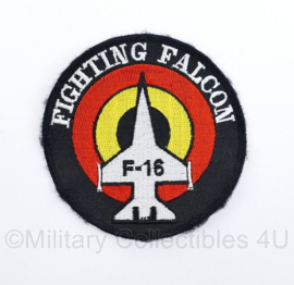 BAF Belgian Air Force F-16 Fighting embleem - diameter 10 cm -  origineel
