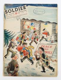 The British Army Magazine Soldier Vol.6 No 10 December 1950 -  Afkomstig uit de Nederlandse MVO bibliotheek - 30 x 22 cm - origineel