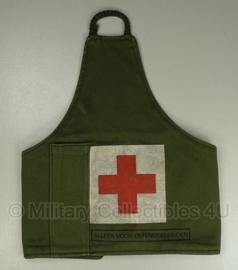 KL armband / schouderband Groen Rode Kruis (oefen) Geneeskundige dienst - origineel