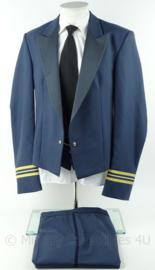 KLu Luchtmacht Avondtenue AT uniform set jas, broek, gilet - rang Majoor - maat jas 52 - origineel