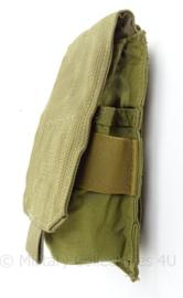 KL Nederlandse leger en US Army M-4 Single mag pouch 2 mags per pouch - Eagle Industries - ongebruikt - 7,5 x 17 x 6 cm - origineel