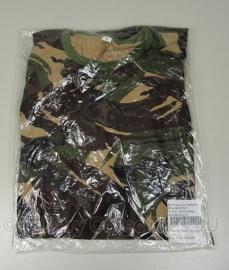 KL Nederlandse leger T shirt woodland camouflage - ongebruikt in verpakking - maat Large -  origineel