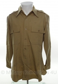 US officer khaki shirt - Jayson Regulation Military Shirt - size S - origineel WO2 US