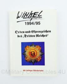Naslagwerk Orden und Ehrenzeiches des Dritten Reiches 1994-1995 Bernd Stephan