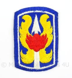 US Army Vietnam Oorlog 199th Infantry Brigade patch - afmeting 5 x 8 cm - Origineel