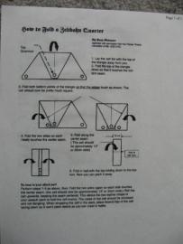 Vouwen van een zeltbahn in de tornister -2