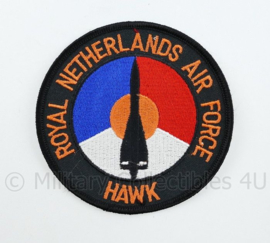 KLU Luchtmacht RNLAF HAWK embleem - diameter 10 cm - origineel