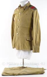 """Russisch """"vroeg model"""" uniform jas en broek - maat 46-2 - origineel"""
