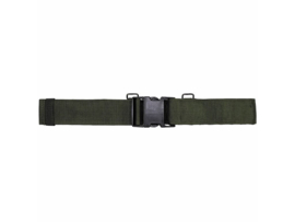 Britse leger Belt Waist Medium OD IRR Remploy LTD R/R - 1994 - topstaat - origineel
