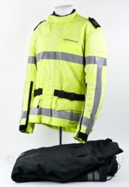 Nederlandse Politie verlopen Stadler 2007 motorjas  met broek - zonder emblemen wel met epauletten - maat 53 - origineel
