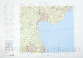Defensie stafkaart 19 Oost Alkmaar M733 - schaal 1 : 50.000 -57 x 83 cm - origineel