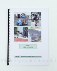 Korps Mariniers naslagwerk basis vloot mariniers - 75 pagina's - origineel