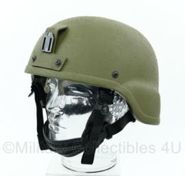 Rabintex helm met nachtkijker mount groen - maat Large - origineel