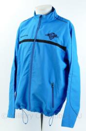 KL Landmacht trainingsjack - merk Masita - schoolbataljon Zuid - lichtblauw - maat Large - origineel