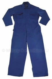 Blauwe overall - maat XL - origineel