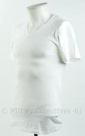 Nederlandse brandweer T-shirt met korte mouw - huidig model - wit - maat Large - nieuw - origineel