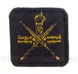 KL Korps Commandotroepen KCT borstembleem - met klittenband - 4 x 4 cm