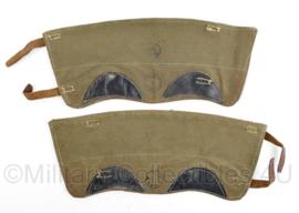 MVO jaren 50 beenkappen - maker De Valk - lijkt op Wo2 Duits - 34,5 x 14,5 cm - origineel
