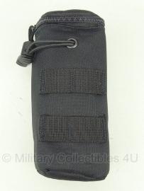 Koppeltas airsoft BB fles - Molle draagsysteem - 20 x 7 x 7 cm - ZWART