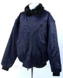 Craftland winterjas met voering - maat L - donkerblauw - Nieuw