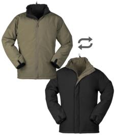 Omkeerbaar Snug jack / ISO jack Zwart / Groen - nieuw gemaakt!