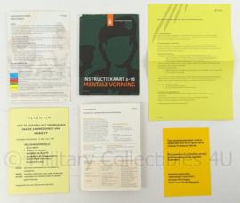 KL Landmacht  SFOR documenten set - 6 stuks - origineel
