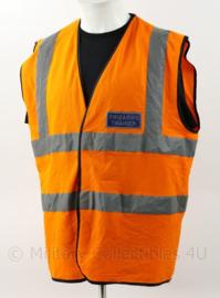 Britse leger Firearms Trainer vest oranje - maat XL - origineel