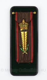 Belgische medaille - in doosje - origineel