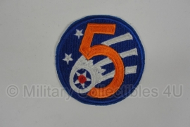 5th USAAF Army Aircorps patch