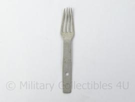 WO2 Duitse vork van klapbestekset gestempeld HHL 39 - alluminium - afmeting 2,5 x 14,5 cm - origineel 1938