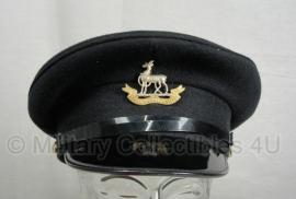 British Visor cap met embleem- Royal Warwicksire regiment- maat 57 - origineel