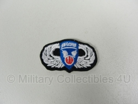 WWII US 11 Airborne Division oval wing