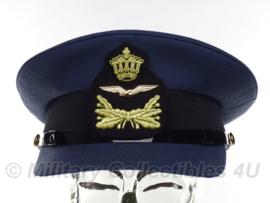 KLU Luchtmacht pet Onderofficier - nieuwste model - topstaat - maat 56 - origineel