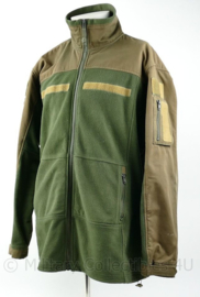 Fostex tactical jack groen - full zip -  met klittenband stroken - maat XL - origineel