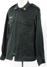 Canadese jacket mans working met insignes - maat 37/38 - origineel