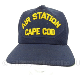 USN US Navy baseball cap bemanning Coast Guard Air Station Cape Cod - one size - origineel