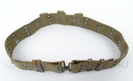 Italiaanse leger koppel Groen - origineel