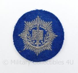 Gemeentepolitie pet embleem - diameter 5  cm - origineel