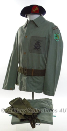 Korps Mariniers Jungle Fatique kleding SET compleet - NW Guinea - maat Medium/Large - origineel