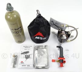 Extreme Condition Stove MSR XGK EX stove MET brandstoffles - NIEUW in de doos- origineel
