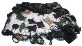 Camonet 6 bij 6 meter - met katoenen camouflage - origineel