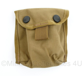 Defensie of US Army Coyote MOLLE universele Utility pouch - NIEUW - 11 x 11 x 3 cm - origineel