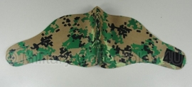 Mask half face - USMC marpat digital woodland camo