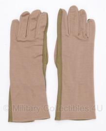 KL en Klu leger handschoenen Leder/Nomex DESERT -maat 9 - Nieuw - origineel