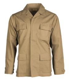 US BDU field jacket Ripstop - Dark Coyote