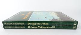 Naslagwerk set van 2 boeken over WO2 Slag om Arnhem en bange meidagen van 1940