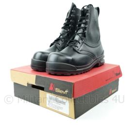 KLU Luchtmacht wintervliegerlaars winter laarzen voor piloten vlieger zwart met snelsluiting - maat 280 = maat 44 - NIEUW in doos - zeldzaam - origineel