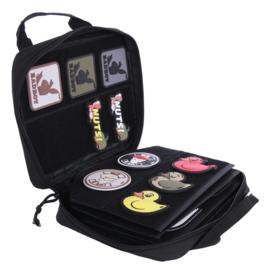 Unieke Collectors bag voor emblemen - zwart - nieuw gemaakt