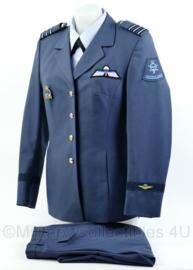 KLU Luchtmacht dames DT uniform set met parawing uit 2007 - rang Luitenant- Kolonel- maat 36 - origineel